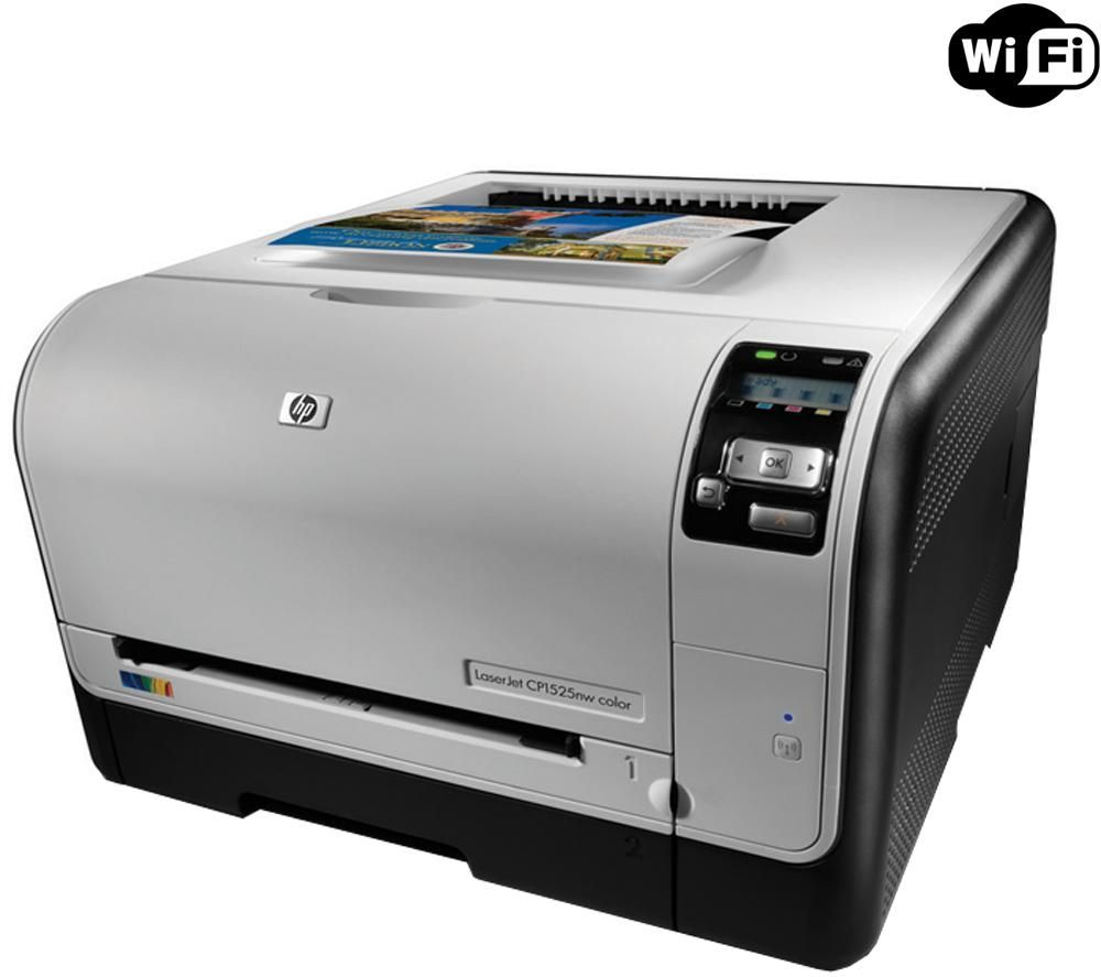 Color printers laser - Receive 45 00 Cash Back Hp Laserjet Pro Cp1525n Color Printer